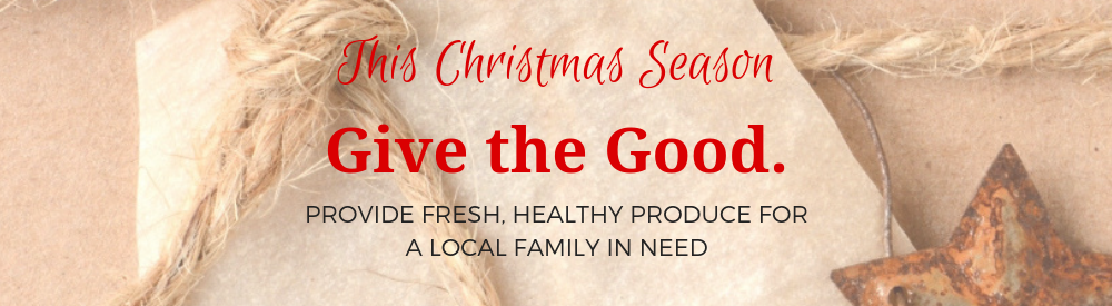 Give the Good Networks Ministries Good Food Box Fundraiser